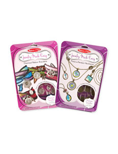 Melissa & Doug Jewelry Made Easy Bundle - Bracelets & Necklaces