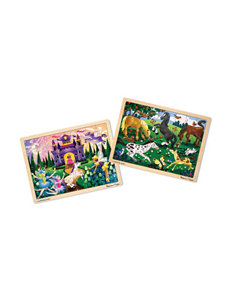 Melissa & Doug 48-pc. Jigsaw Puzzle Bundle