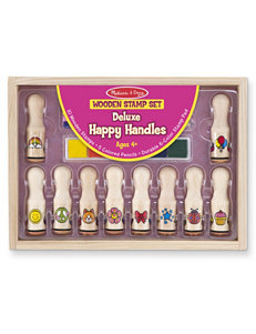 Melissa & Doug 21-pc. Deluxe Happy Handle Stamp Set