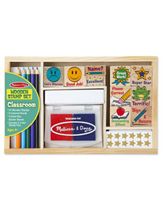 Melissa & Doug 20-pc. Classroom Stamp Set