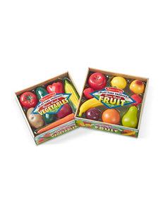 Melissa & Doug Combo Fruit & Veggie Set