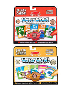Melissa & Doug Water Wow! Splash Cards Bundle - Alphabet & Numbers