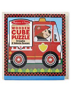 Melissa & Doug 16-pc. Vehicles Cubed Puzzle