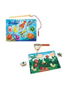 Melissa & Doug Fishing & Bug Catching Magnet Game Bundle