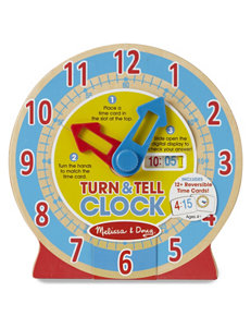 Melissa & Doug 13-pc. Turn & Tell Clock