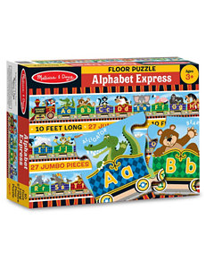 Melissa & Doug 27-pc. Alphabet Express Floor Puzzle