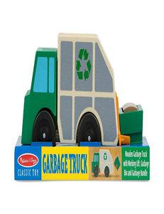 Melissa & Doug Garbage Truck Toy