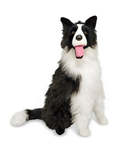 Melissa & Doug Border Collie Plush Animal