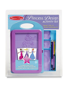 Melissa & Doug 15-pc. Princess Design Activity Kit