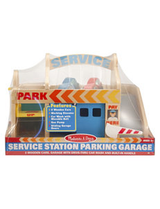 Melissa & Doug 3-pc. Service Station Parking Garage