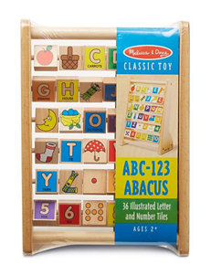Melissa & Doug ABC & 123 Abacus