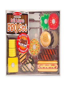 Melissa & Doug 20-pc. Grill & Serve BBQ Set