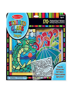 Melissa & Doug Stained Glass Dragon
