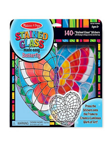Melissa & Doug Stained Glass Butterly