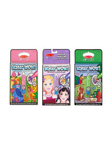 Melissa & Doug Water Wow! Bundle - Fairy Tales, Animals & Makeup & Manicures