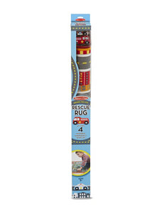 Melissa & Doug 5-pc. Round the City Rescue Rug