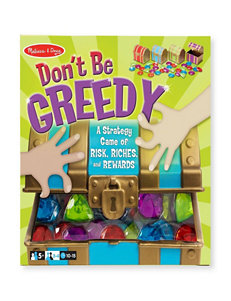 Melissa & Doug Don't Be Greedy Treasure Chest Game