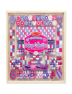 Melissa & Doug Deluxe Collection - Wooden Beads Set