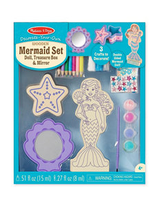 Melissa & Doug Decorate-Your-Own Mermaid Set