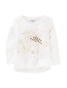 OshKosh B'gosh Bird Print Top - Girls 4-8