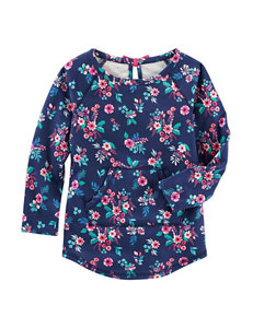 OshKosh B'gosh Floral Print Tunic Top - Toddler Girls