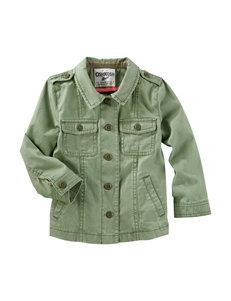 Oshkosh B'Gosh Olive Jacket - Toddler Girls