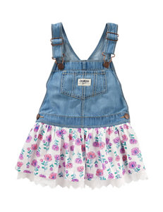 OshKosh B'gosh Floral Print Jumper - Toddler Girls