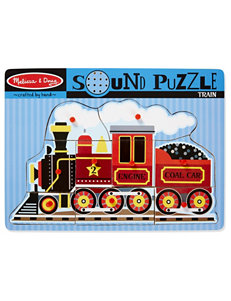 Melissa & Doug 9-pc. Train Sound Puzzle