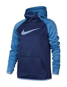 Nike Blue Fleece & Soft Shell Jackets