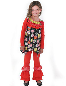 Jelly the Pug 2-pc. Julia Top & Leggings Set - Toddlers & Girls 4-6x