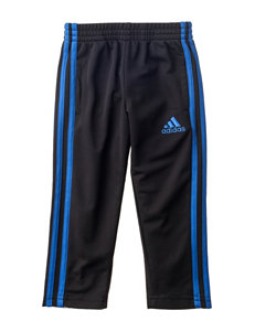 adidas Black & Blue Trainer Pants - Toddlers & Boys 4-7x