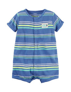 Carters Striped Print Creeper - Baby 3-18 Mos.