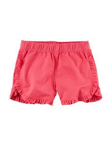 Carter's Red Ruffle Shorts - Girls 4-8