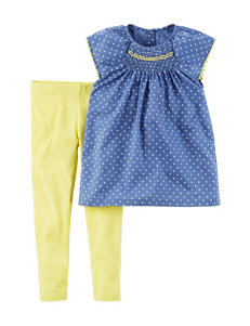 Carter's 2-pc. Polka Dot Shirt & Leggings Set - Toddler Girls