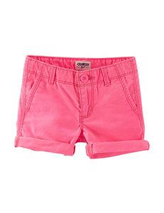 OshKosh B'gosh Twill Shorts - Girls 4-8