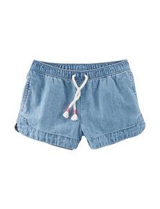 OshKosh B'gosh Denim Twill Shorts - Girls 4-8