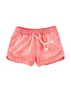Oshkosh B'gosh Peachy Keen Drawstring Shorts - Girls 4-8