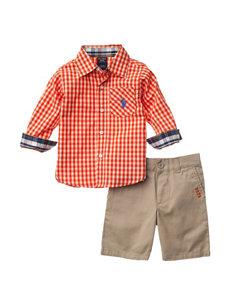 U.S. Polo Assn. Bright Orange