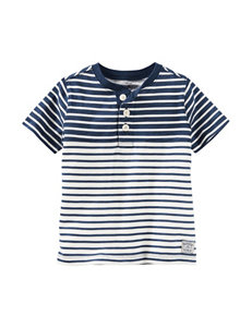 OshKosh B'Gosh Indigo Striped Henley - Boys 4-8