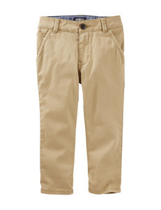 OshKosh BGosh Khaki Twill Pants - Boys 4-8