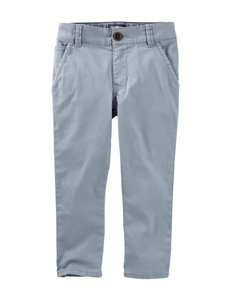 OshKosh B'Gosh Blue Twill Pants - Boys 4-8