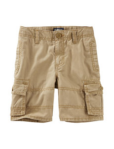 OshKosh B'gosh Khaki Cargo Shorts - Toddler Boys