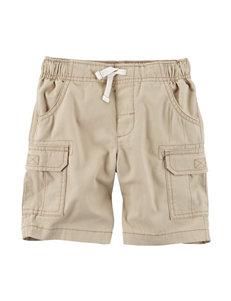 Carter's Khaki Cargo Shorts - Toddler Boys