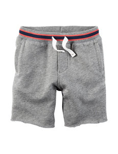 Carter's Heather Grey Shorts - Toddler Boys