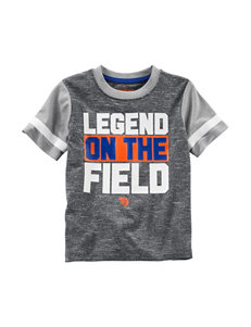 Oshkosh B'Gosh 031-Heather Grey Tees & Tanks