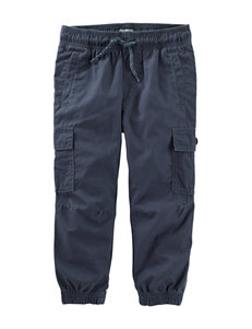 OshKosh B'gosh Blue Poplin Cargo Pants - Boys 4-8