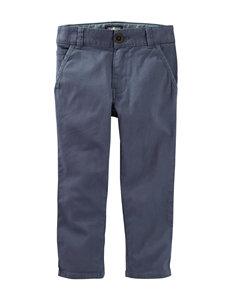 OshKosh B'gosh Blue Twill Pants - Boys 4-8