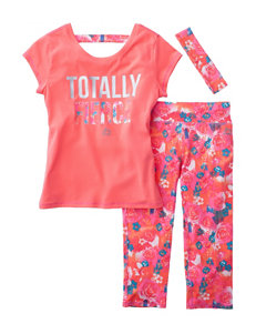 RBX 3-pc. Totally Fierce Athletic Top & Leggings Set - Girls 7-16