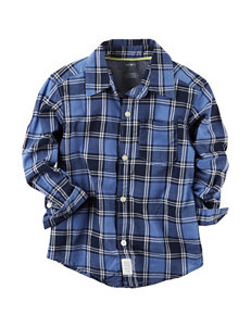 Carter's Plaid Print Woven Shirt - Boys 5-8