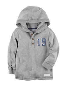 Carter's Hooded Henley Sweater - Boys 5-8